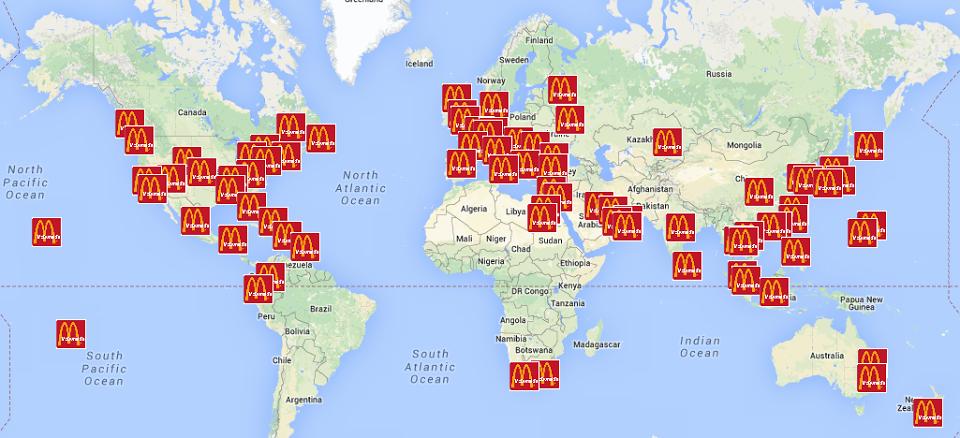 Mc global map