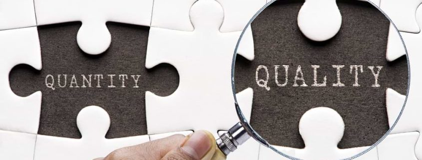Content Marketing Quality Over Quantity