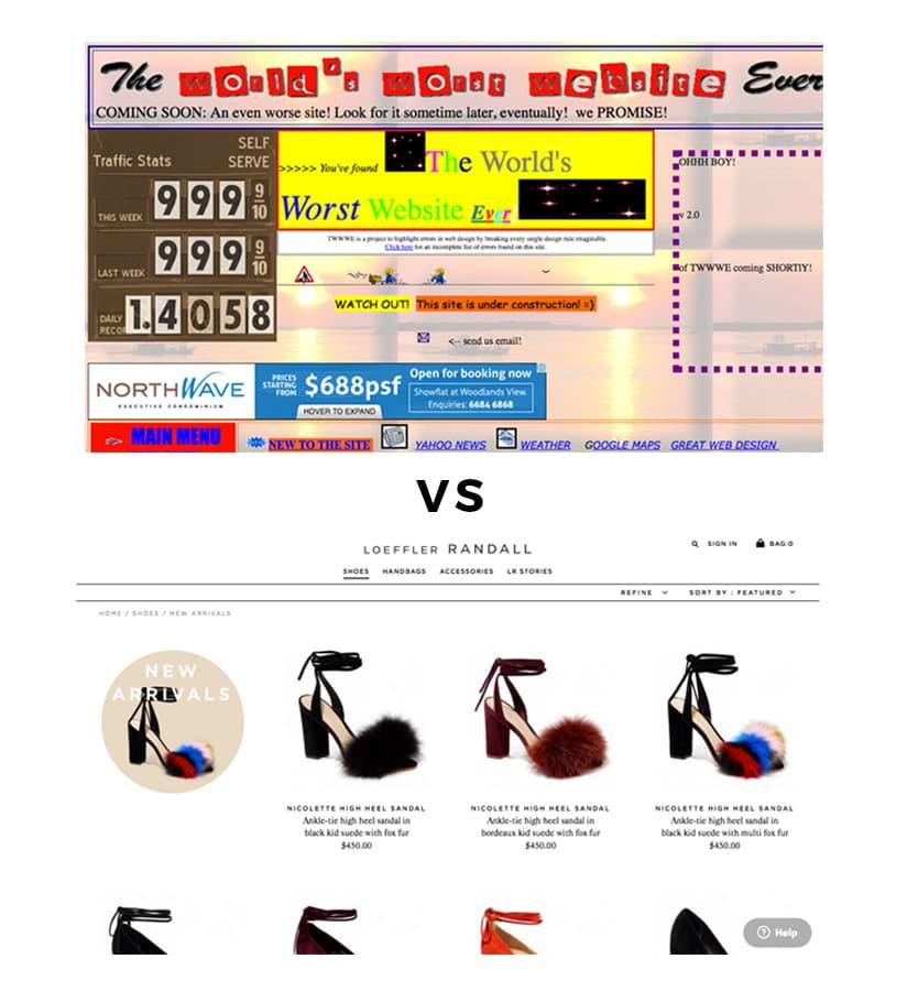 Avoid Zero White Space in Website Design