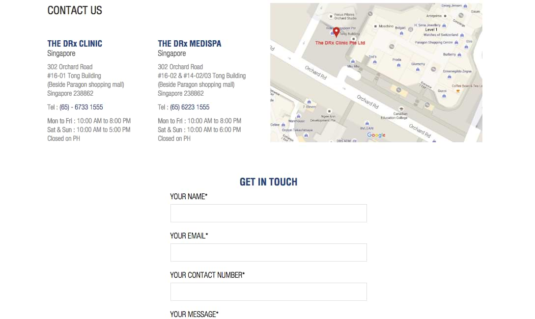 Where Is Your Contact Information in Website Design