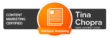 Hubspot Content Marketing Certification - Script Consultants