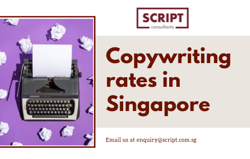 What are the copywriting rates in Singapore?