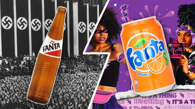 Fanta's 75th anniversary advertisement references to Nazi Germany