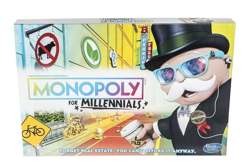 Hasbro's Monopoly for Millennials