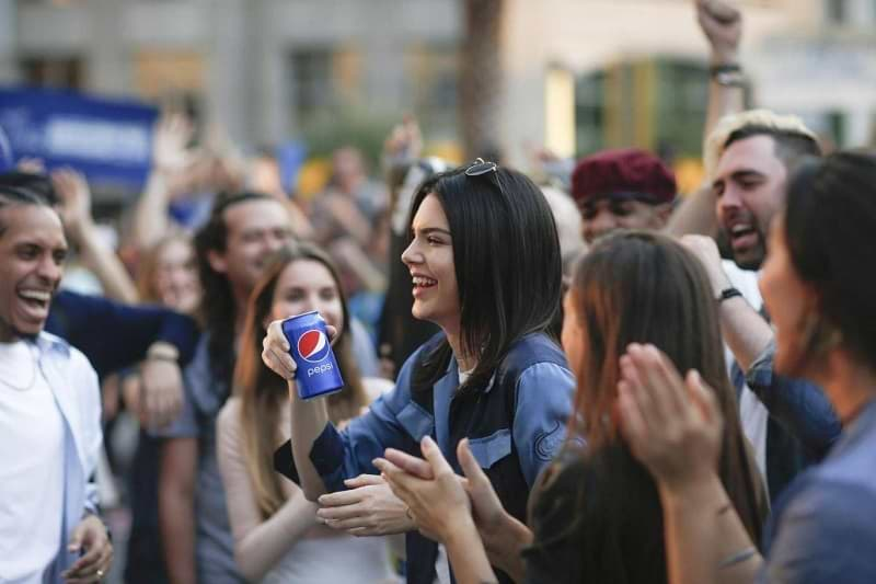Pepsi's Live for Now ad