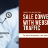 convert website traffic to customers