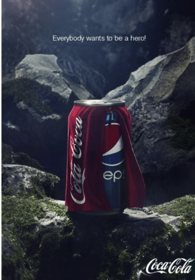 This is how Coca-Cola Reacted To The Pepsi Ad