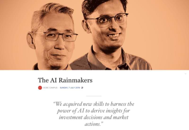 OCBC - The AI Rainmakers