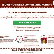 3 Reasons Why Outsourcing Content Creation To A Copywriting Agency is Good for Business