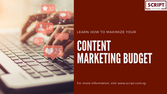 Team Script shares tips on maximising content marketing budget