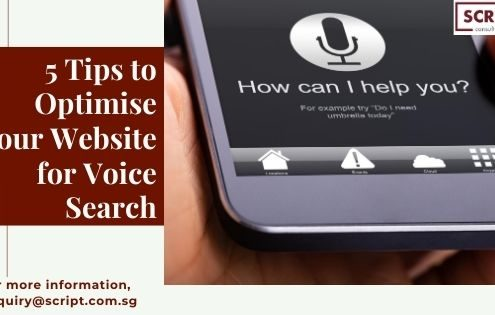 5 Best Tips To Optimise Your Website for Voice Search