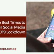 Best Time To Post On Social Media Post Coronavirus Lockdown