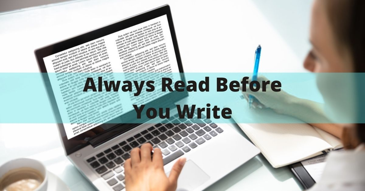 Always Read Before Writing
