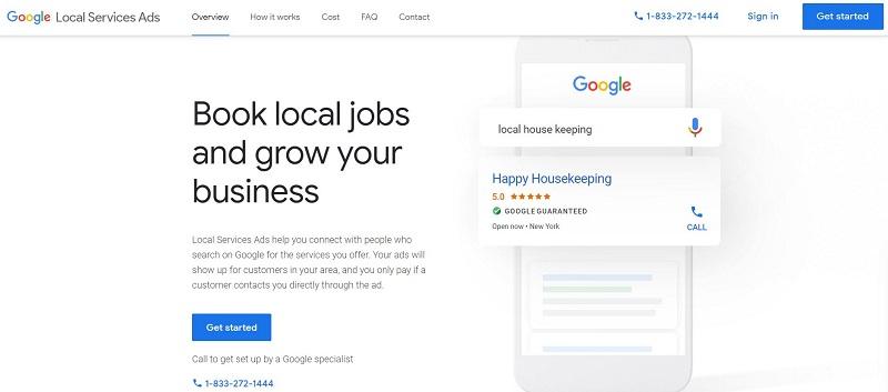 Check Google Guaranteed Eligibility